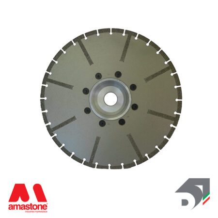 Electroplated sector blade for marble - Reinforced - Diamar